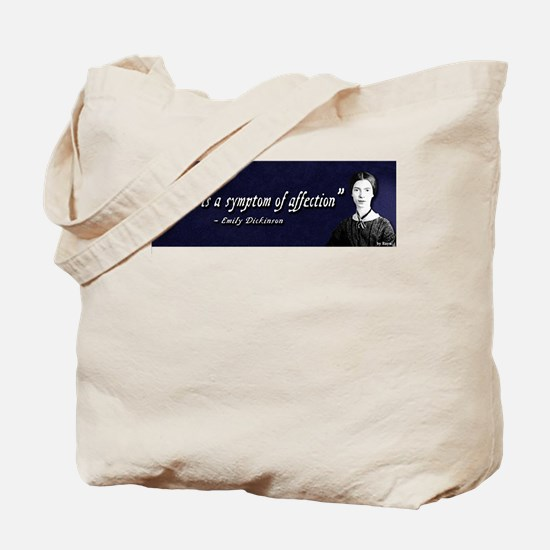 Emily Dickinson - Affection Tote Bag