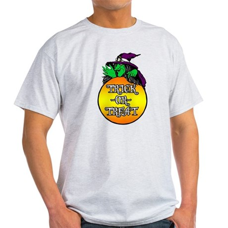 Witch Trick Or Treat Light T-Shirt