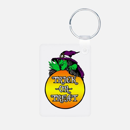 Witch Trick Or Treat Keychains