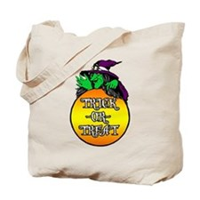 Witch Trick Or Treat Tote Bag