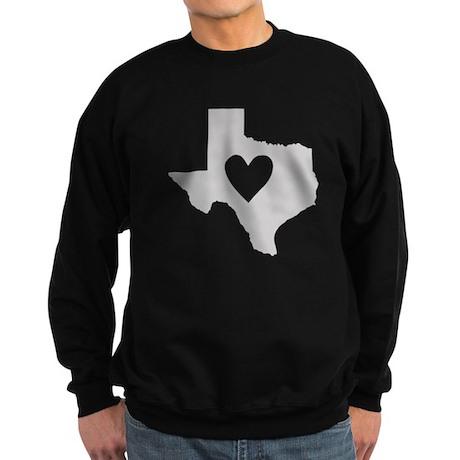 Heart Texas Sweatshirt (dark)