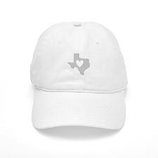 Heart Texas Baseball Baseball Cap