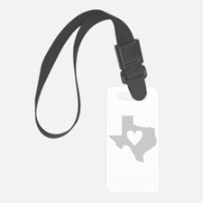 Heart Texas Luggage Tag