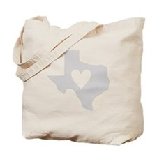 Heart Texas Tote Bag