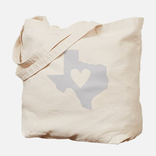 Heart Texas Tote Bag