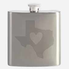 Heart Texas Flask