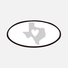 Heart Texas Patches