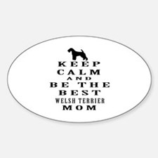 Keep Calm Welsh Terrier Designs Decal