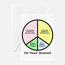 """The """"Peace"""" Movement Greeting Cards (Pk of 10)"""