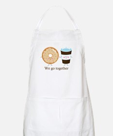 We go together like coffee and donuts Apron
