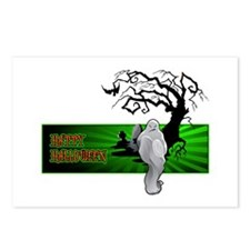 Halloween Ghost Postcards (Package of 8)