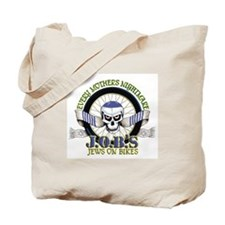 Jews on Bikes Tote Bag
