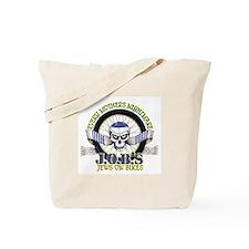 Jews on Bikes Tote Bag