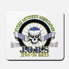 Jews on Bikes Mousepad