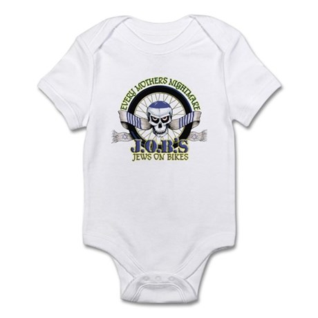 Jews on Bikes Infant Bodysuit