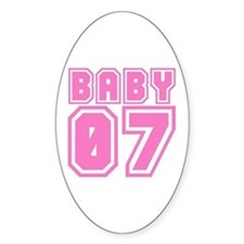 BABY 07 Oval Decal