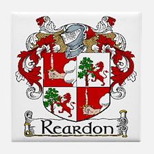Reardon Coat of Arms Tile Coaster