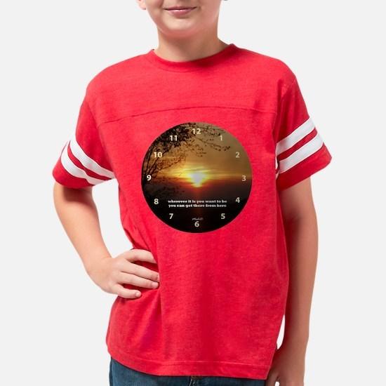 Wherever Clock Youth Football Shirt