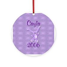 Cayla 06 Ornament (Round)