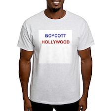 Boycott Hollywood Ash Grey T-Shirt