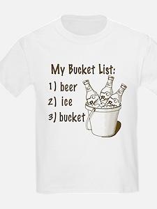 My Beer Bucket List T-Shirt