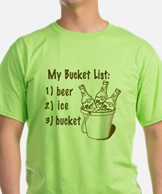 My Beer Bucket List T-Shirt