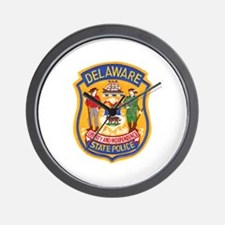 Delaware State Police Wall Clock