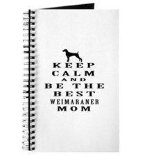 Keep Calm Weimaraner Designs Journal