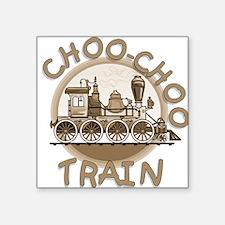 Old Time Choo Choo Train Sticker
