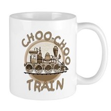 Old Time Choo Choo Train Mug
