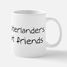 Large Munsterlanders make fri Mug