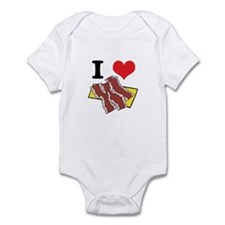 I Heart (Love) Bacon Infant Bodysuit
