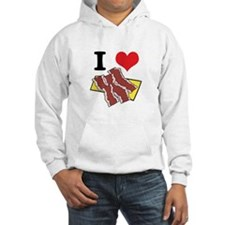 I Heart (Love) Bacon Hoodie