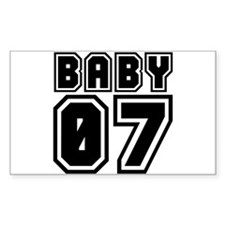 BABY 07 Rectangle Decal
