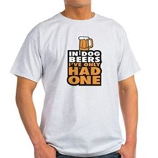 In Dog Beers Ive Only had one T-Shirt