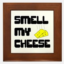 Smell My Cheese Framed Tile