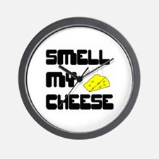 Smell My Cheese Wall Clock