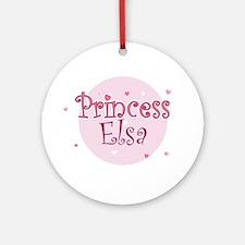 Elsa Ornament (Round)