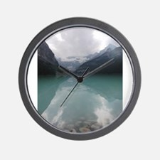 LakeLouise_08-2009.jpg Wall Clock
