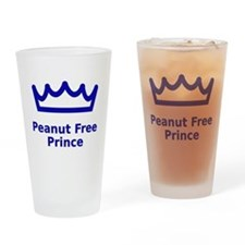 Peanut Free Prince Drinking Glass