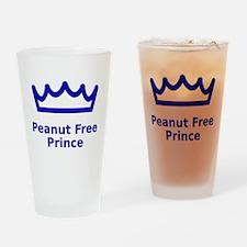 Peanut Free Prince Drinking Glass