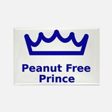 Peanut Free Prince Rectangle Magnet