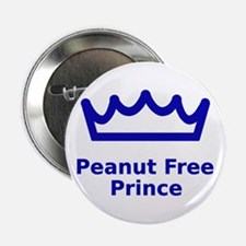 "Peanut Free Prince 2.25"" Button"
