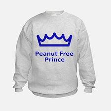 Peanut Free Prince Sweatshirt