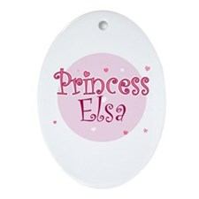 Elsa Oval Ornament