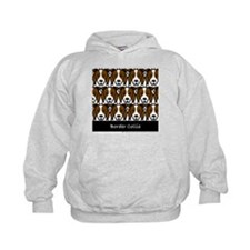 Red Border Collies Hoodie