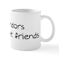 Komondors make friends Mug