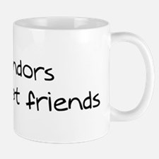 Komondors make friends Mug