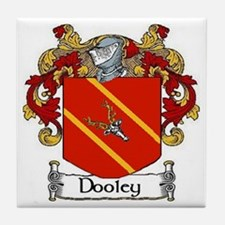 Dooley Coat of Arms Tile Coaster
