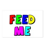 The Feed Me Postcards (Package of 8)